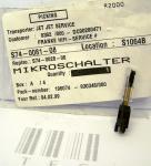 Mikroschalter,Blattschalter, S74-0081-08, Neu, 1410387, 3084430, €5,89