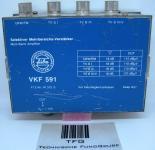 Antennenverstärker,Selektiver-Mehrbereichs,Verstärker,Fuba, VKF591,FTZ-Nr.W372S, 12VFernspeisung, Ohne Fernspeise-Netzteil gebraucht, 1410975,€23,74