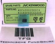 IC,MICROPROCESSOR,JVC/KENWOOD,MSP430G25KGCA, Neu, 141547,H632979,  €18,98