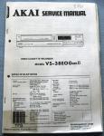 Service Manual,Kopie,ca.70Seiten, AKAI, VS-38, gebraucht, 1411187,312256, AE€11,84