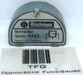 Stammleitungsverteiler,2fach,Hirschmann, Vedo 0423,gebraucht, 1411590, €9,46