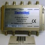 Sat-Verteiler,8fach,PowerPass, Technisat,40-2150MHz,0000/3110
