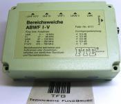 Bereichsweiche,FTE,ABWFI-V,4111