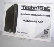 Bedienungsanleitung,28Seiten, Technisat, MultyMedia, ADR1, 34399, Neu, 149265,AE €11,84