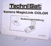 Bedienungsanleitung,12Seiten, Technisat, Kamera MegaLink Color,221/01, gebraucht, 149271,AE €11,84